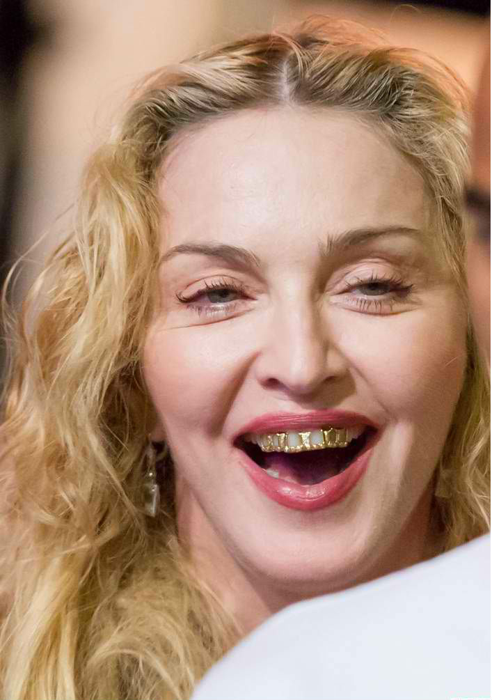 Chatter Busy: Madonna Grills At Menton Music Festival