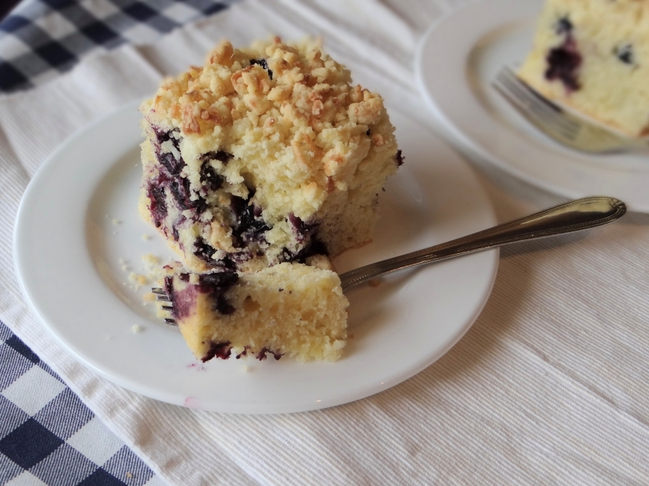 Words & Cake | Bake, Eat, Write, Read: Blueberry Muffin Cake with ...
