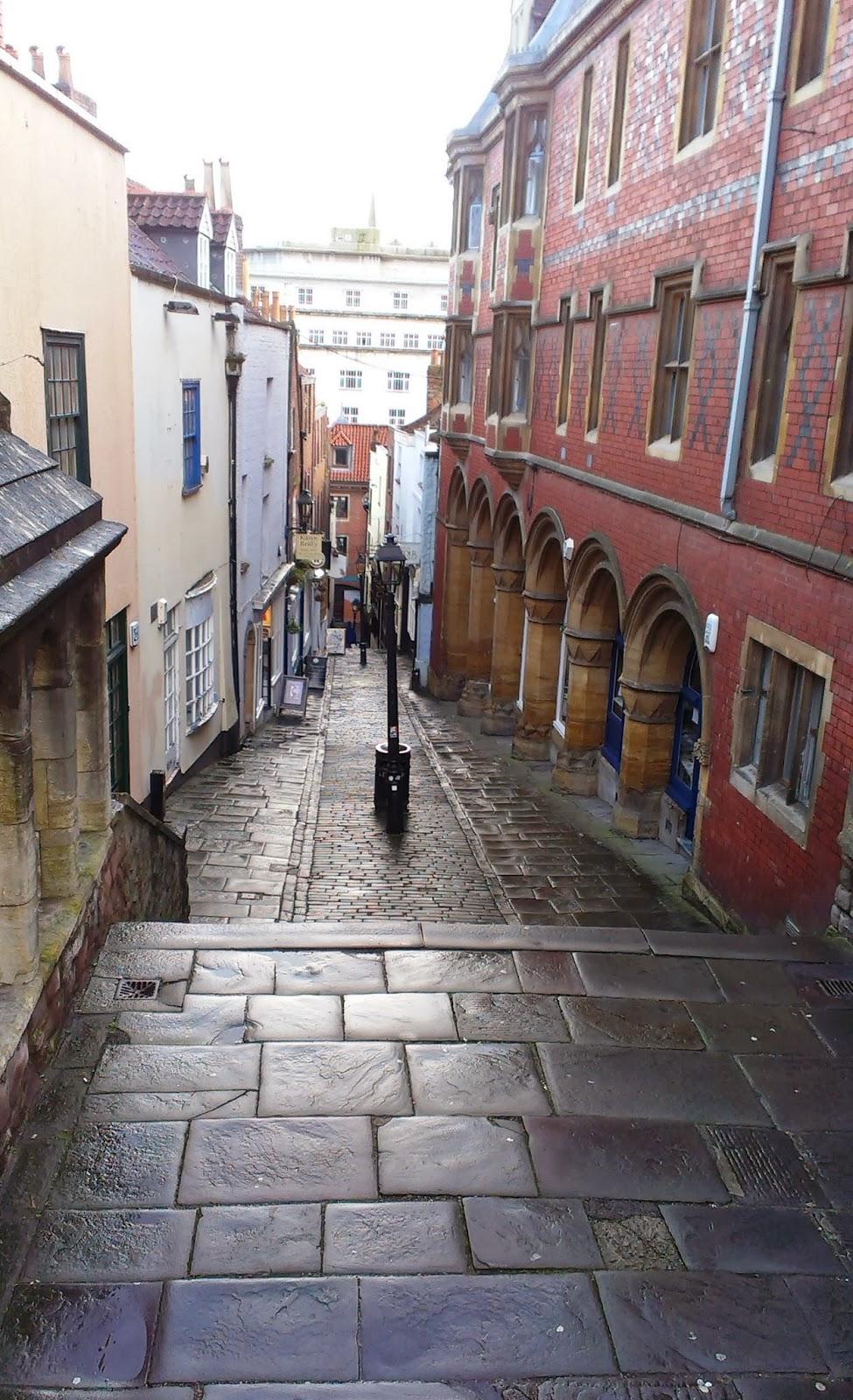 Christmas Steps Bristol