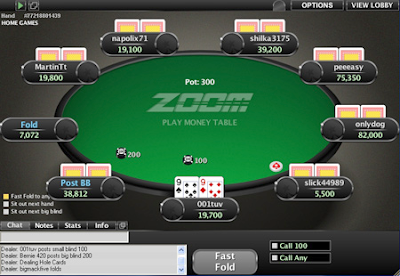 pokerstars zoom tables