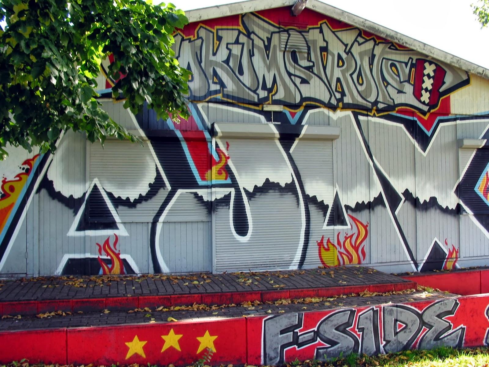 Graffiti wall amsterdam - Amsterdam Netherlands