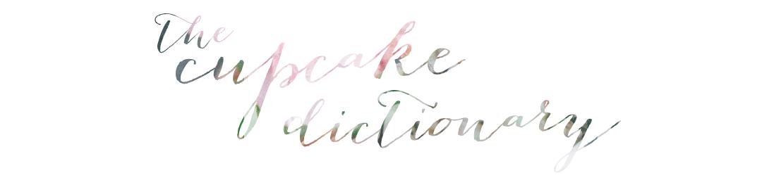 Cupcake Dictionary