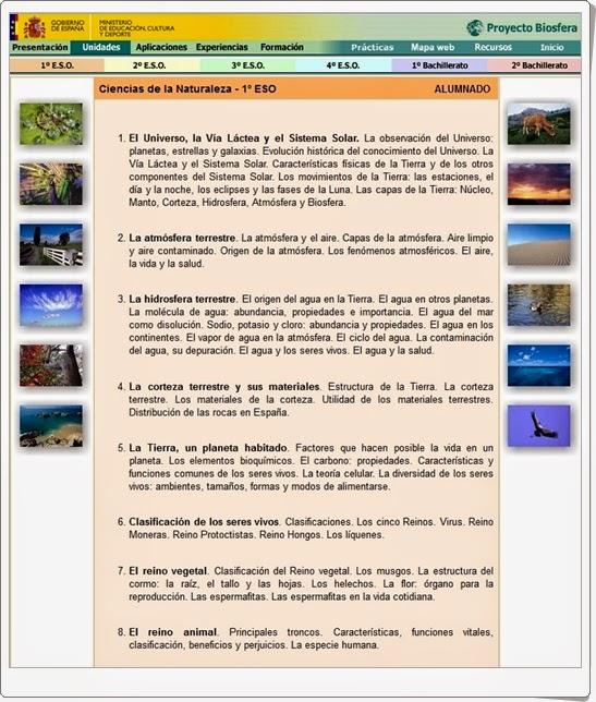 http://recursostic.educacion.es/ciencias/biosfera/web/profesor/1eso/1.htm