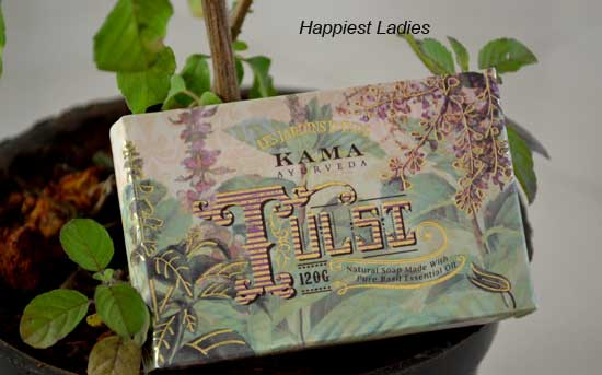 Kama Ayurveda Natural Tulsi Soap