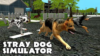 Screenshots of the Stray dog simulator for Android tablet, phone.