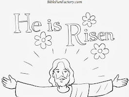 Christ On Cross Coloring Pages