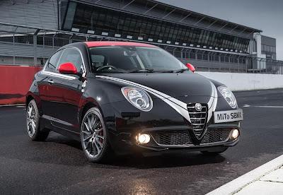 Alfa Romeo MiTo Quadrifoglio Verde SBK Limited Edition (2013) Front Side