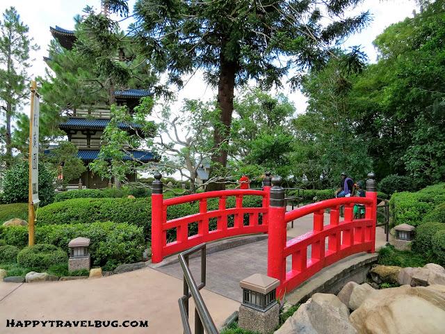 Japanese gardens at Epcot (Disney World)