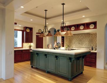 Kitchen Designs  Islands on Change     Big Impact  Kitchen Island Paint      Baer Home Design