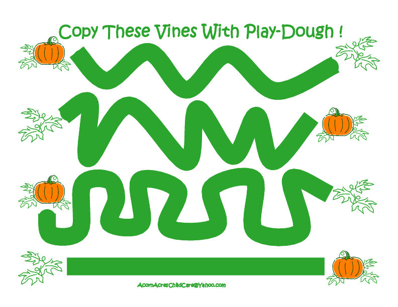 Inventive image inside printable playdough mats