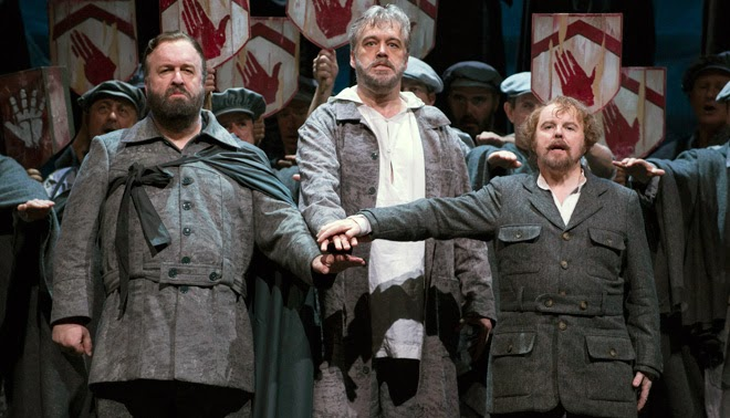 Richard Wiegold, David Kempster, Barry Banks - Guillaume Tell - Welsh National Opera- credit Richard Hubert Smith
