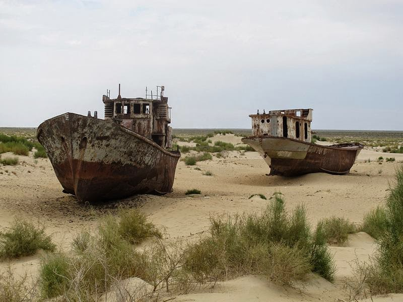 Mo'ynaq – Graveyard of Ships in the Desert