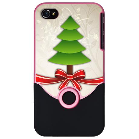 cool christmas tree iphone 4 and 4s case