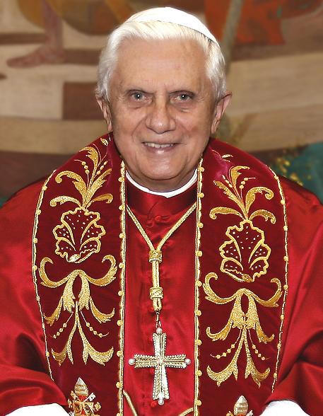 pope benedict xvi evil. now Pope Benedict XVI,