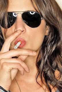 asia argento smoking