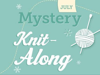 mystery knit along, craftsy, july project