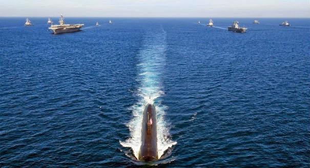 Hạm đội tàu chiến Mỹ ở Thái Bình Dương