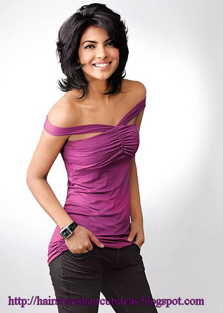 Modern Haircuts 2012: Girls Medium Length Hairstyles - Bollywood ...