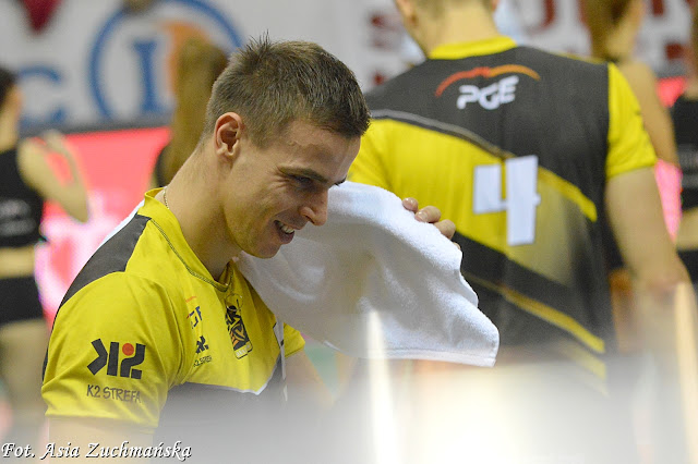 Mariusz Wlazły uśmiech Skra