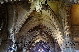 Pendant Bosses and groined vaulting, Lady Chapel, Rosslyn Chapel