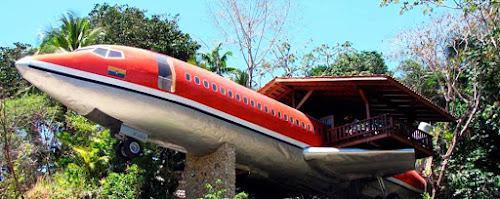Conheça o avião que virou uma suíte de hotel!