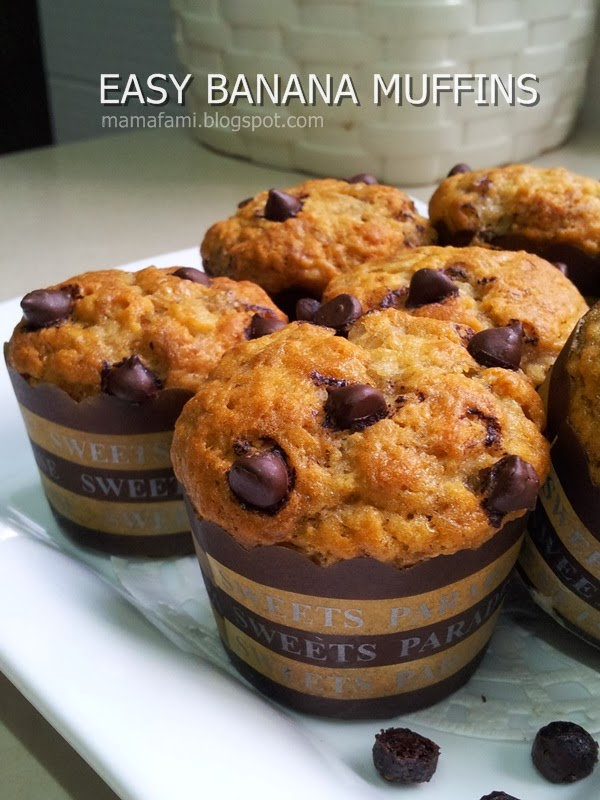 Easy flourless banana muffins - Cook and Post
