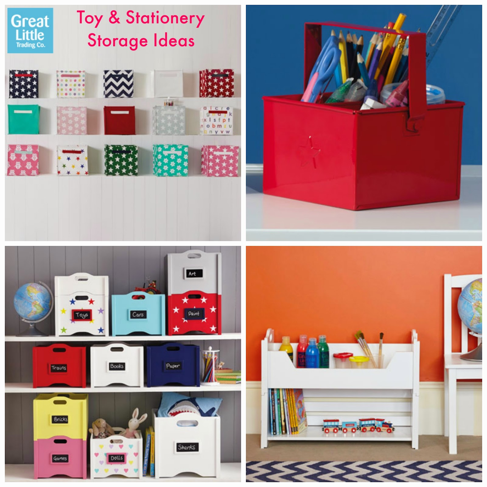 GLTC 15% off Toy Boxes