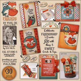 Fall Friends Card Kit