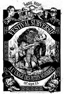 Affiche Festival 109- Jaujac 2013