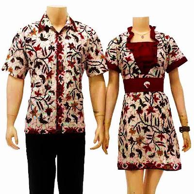 Model Baju Batik Nasional Merah Putih Motif Solo