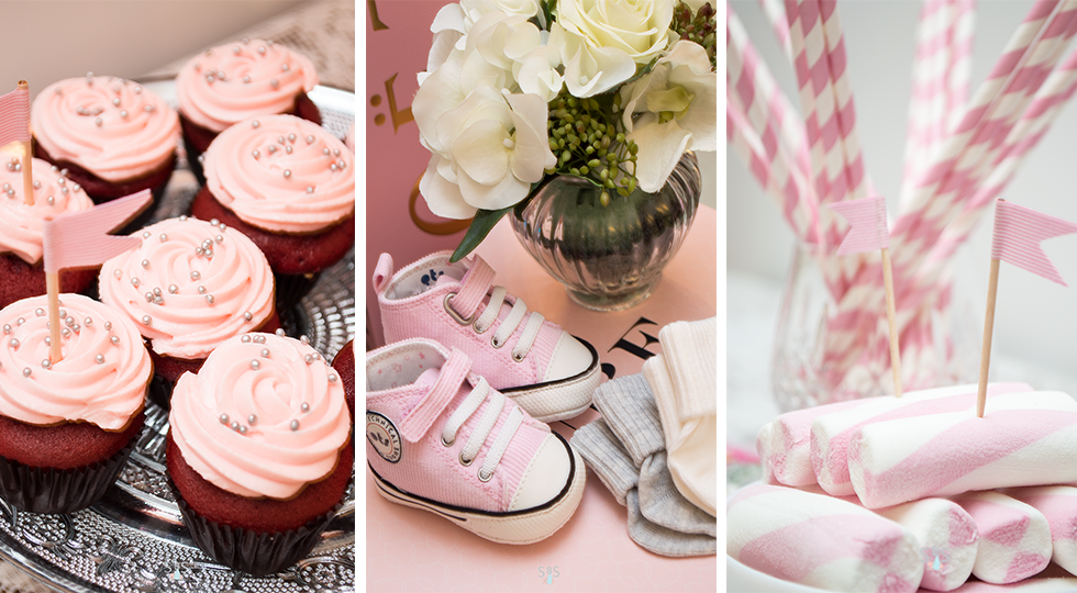 trendy children baby shower