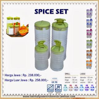 Spice Set Tulipware 2013