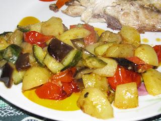 contorno di verdure miste