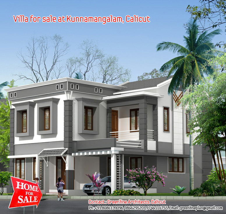 New villas for sale at Kunnamangalam, Calicut