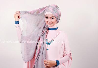 Cara memakai Hijab dan jilbab Pashmina Modern Simple Terbaru Untuk Acara Resmi
