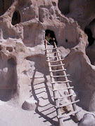 Some of Bandelier's cliff dwellings are accessible by ladders constructed by .
