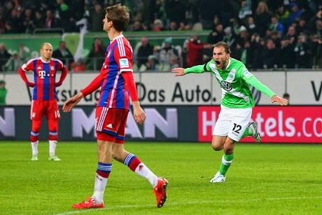 Wolfsburg Menang Telak Atas Bayern Munchen