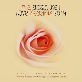 ANOOP ABSOLUTE FEAT. VARIOUS - THE  ABSOLUTE! LOVE MEGAMIX 2014
