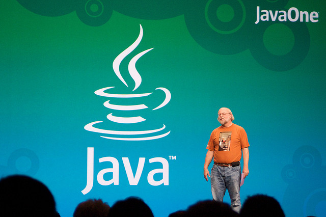 James Gosling, Java Programming Language Architect, the inventor of Java