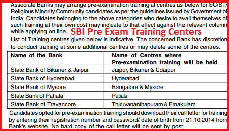 State Bank of India (SBI) 2986 Probationary Officers (PO) Jobs Opening September 2014