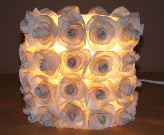 Como hacer una lampara reciclada lodijoella - Ideas para lamparas ...