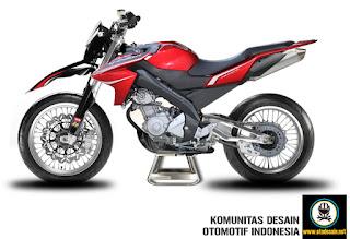Modif Yamaha Vixion Terbaru 2013