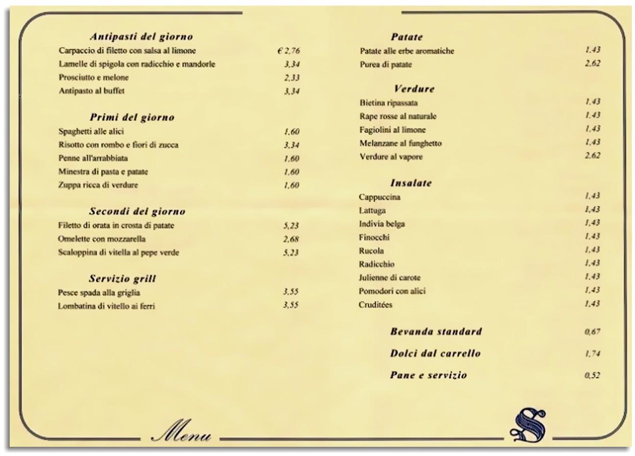 Italiani imbecilli il menu dei senatori for Sede senato italiano