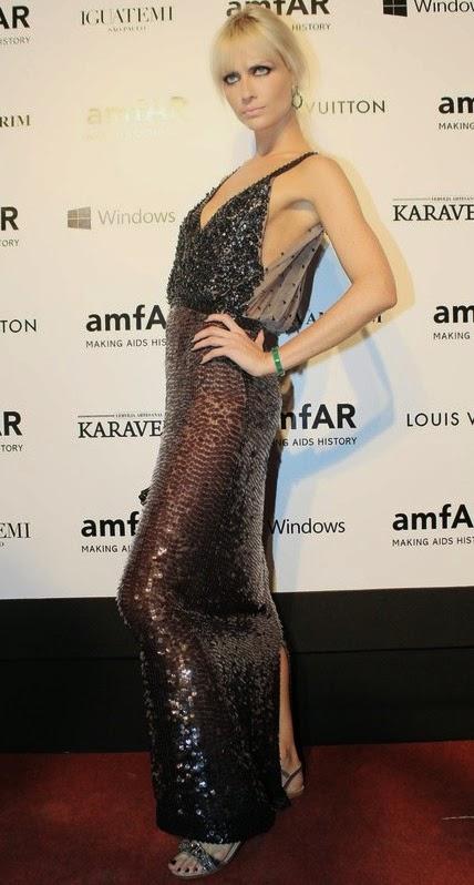 Estilo das famosas no baile de gala amfAR
