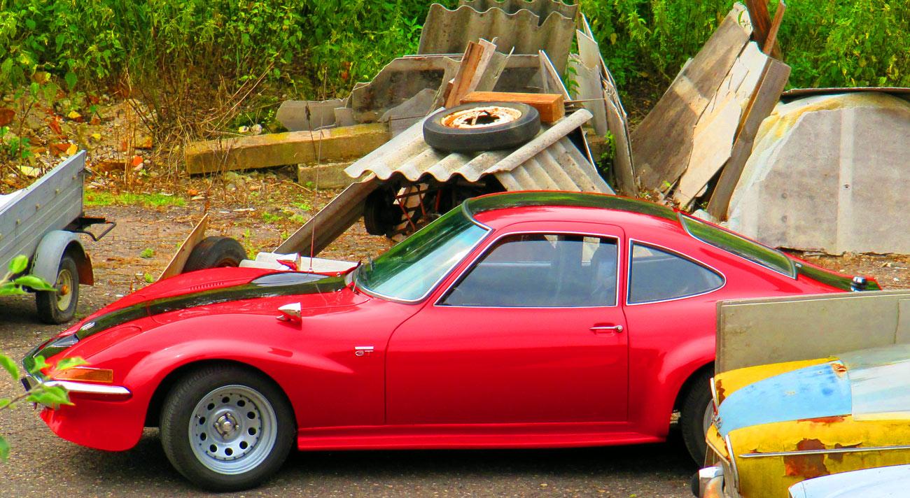 Historic car museum Kuks