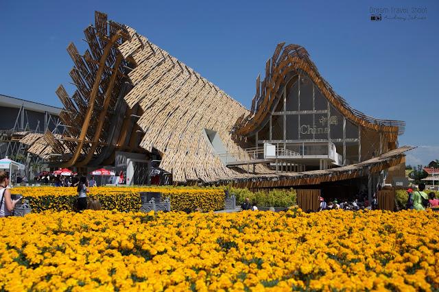Exposition universelle Milano expo 2015 Pavillon Chine