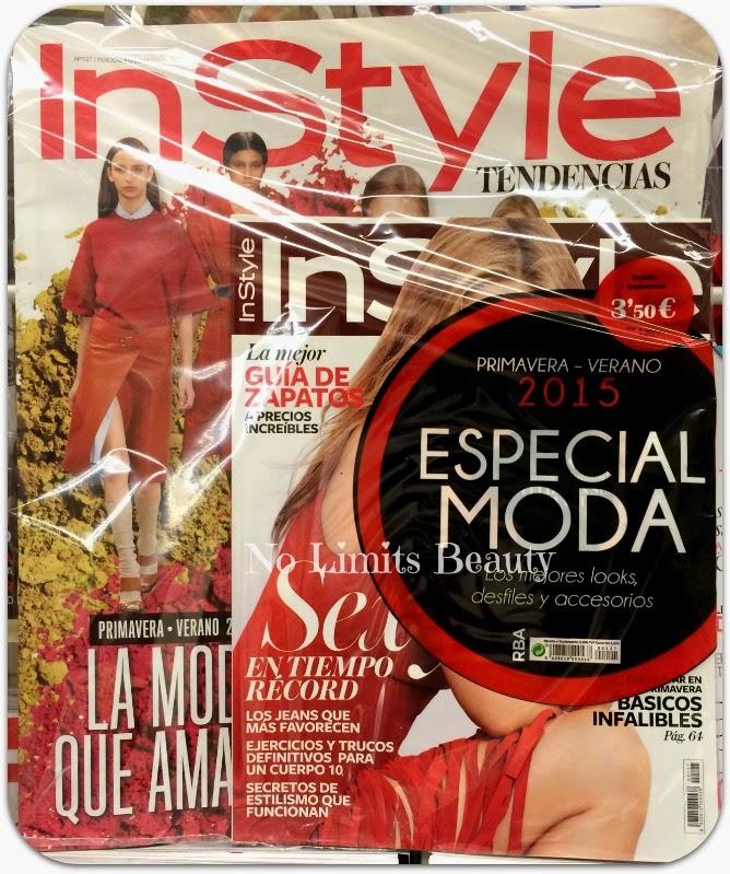 Regalos revistas Marzo 2015: In Style