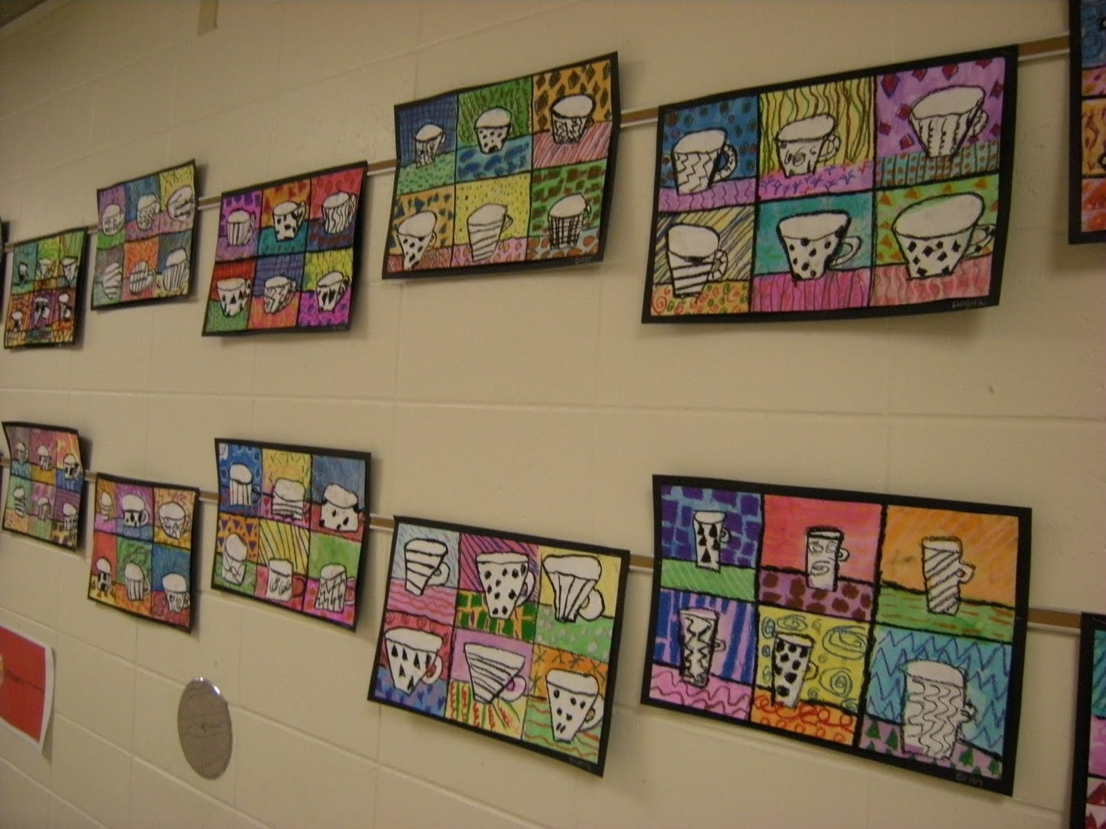 What 39 s happening in the art room 4th grade pop art for 4th grade craft projects
