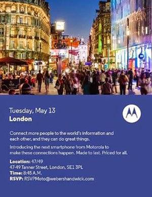 Undangan Motorola Launching Moto E