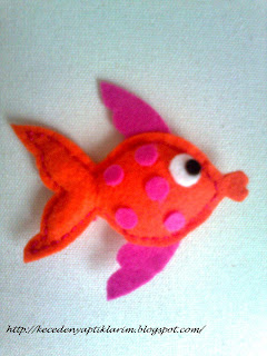 keçe balık felt fish fish pattern